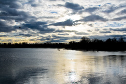 Daventry Country Park in Winter